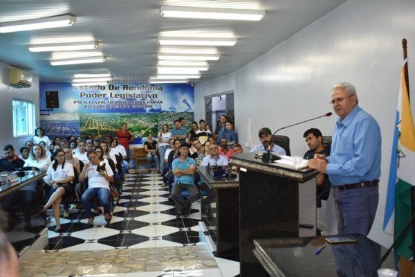 Vice-governador de Rondônia visita Mirante da Serra