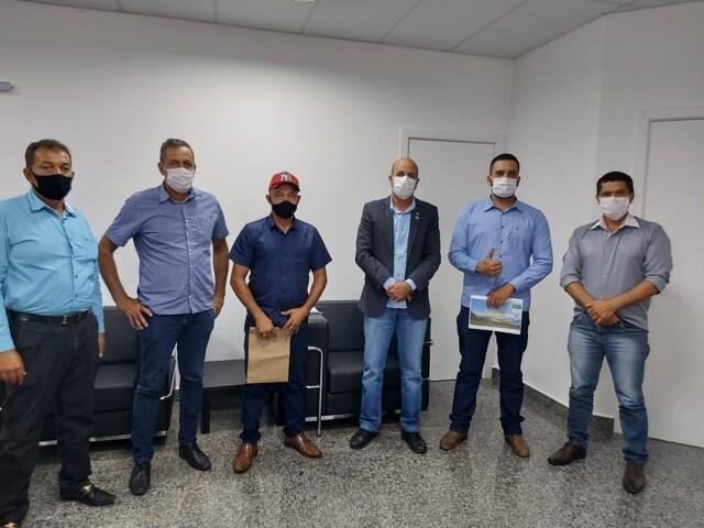 Recurso de Emenda - Deputado Estadual Ismael Crispin confirma R$ 500 mil para recapeamento asfáltico do centro de Mirante da Serra