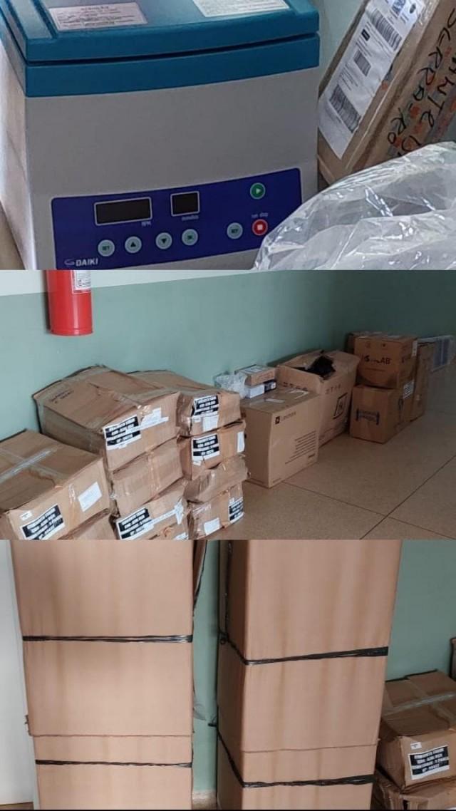 Unidade de Saúde Samuel Marques dos Santos recebe materiais permanentes