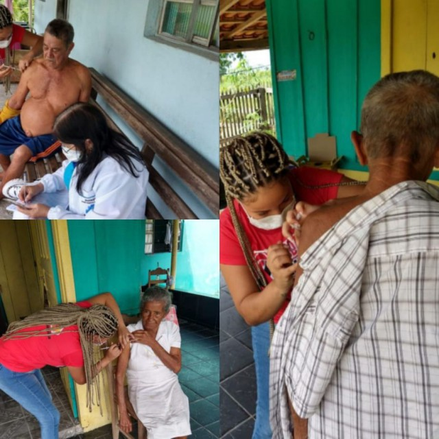 Intensificação da Vacina contra a Covid-19 na Zona Rural