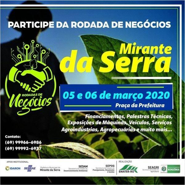 Rodada de Negócios em Mirante da Serra