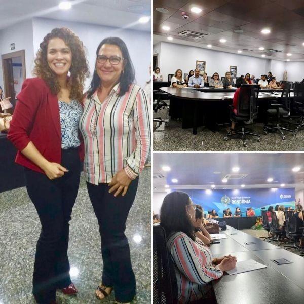 Secretaria de Ação Social de reunião da comissão intergestora bipartite - CIB