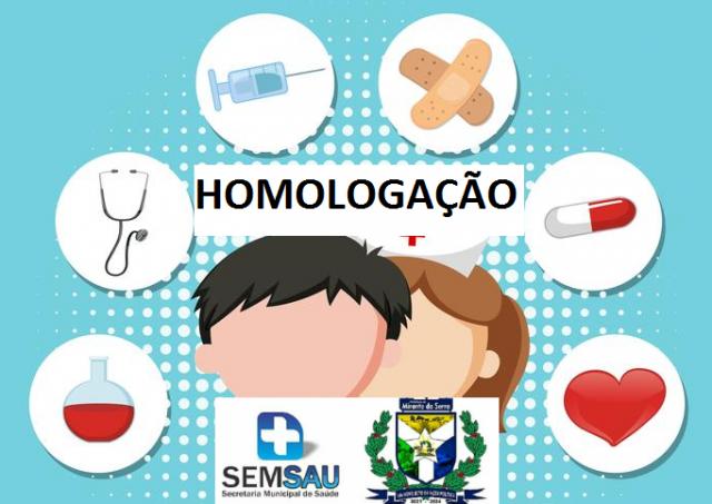 HOMOLOGAÇÃO DO RESULTADO PROCESSO SELETIVO SIMPLIFICADO           EDITAL Nº 002/2021, DE 05/07/2021